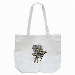 The Flying Dragon Tote Bag (White)