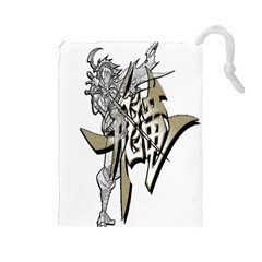 The Flying Dragon Drawstring Pouch (large)