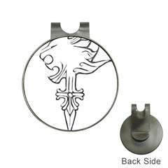 Maybe I m a lion Hat Clip with Golf Ball Marker