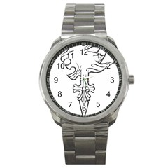 Maybe I m A Lion Sport Metal Watch
