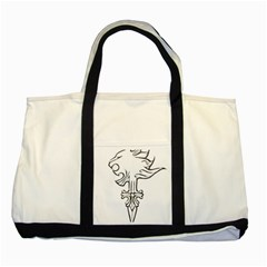 Maybe I m a lion Two Toned Tote Bag
