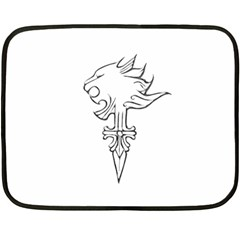 Maybe I m A Lion Mini Fleece Blanket (two Sided)