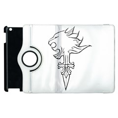 Maybe I m a lion Apple iPad 3/4 Flip 360 Case