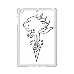 Maybe I m a lion Apple iPad Mini 2 Case (White)