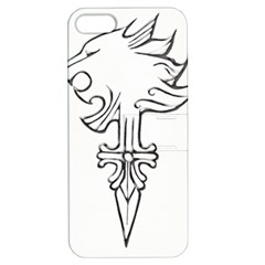 Maybe I m A Lion Apple Iphone 5 Hardshell Case With Stand