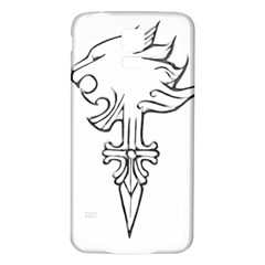 Maybe I m A Lion Samsung Galaxy S5 Back Case (white)