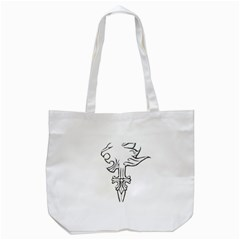 Maybe I m a lion Tote Bag (White)