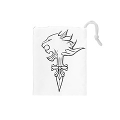 Maybe I m a lion Drawstring Pouch (Small)