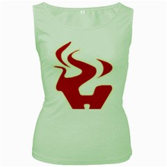 Fever Time Women s Tank Top (Green)