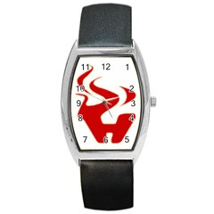 Fever Time Tonneau Leather Watch