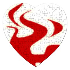 Fever Time Jigsaw Puzzle (heart)