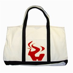 Fever Time Two Toned Tote Bag