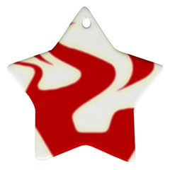 Fever Time Star Ornament (two Sides)