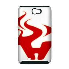 Fever Time Samsung Galaxy Note 2 Hardshell Case (PC+Silicone)