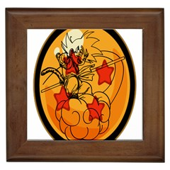 The Search Continues Framed Ceramic Tile