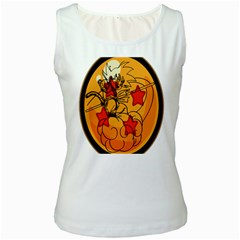The Search Continues Women s Tank Top (white)