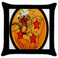 The Search Continues Black Throw Pillow Case
