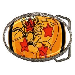 The Search Continues Belt Buckle (oval)