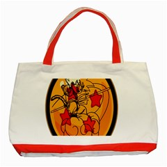 The Search Continues Classic Tote Bag (Red)