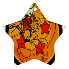 The Search Continues Star Ornament (two Sides)