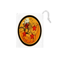 The Search Continues Drawstring Pouch (small)