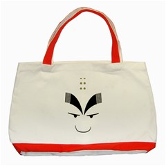 Purvy Monk Classic Tote Bag (Red)