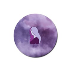 Profile Of Pain Drink Coaster (Round)