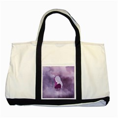 Profile Of Pain Two Toned Tote Bag