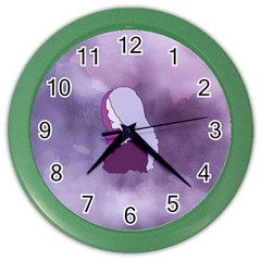 Profile Of Pain Wall Clock (color)