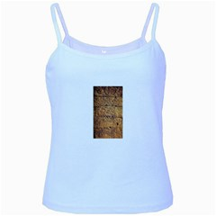Ancient Egypt Mural 12aug 2014 Baby Blue Spaghetti Tank