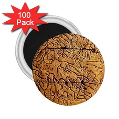 Ancient Egypt Mural 12aug 2014 2.25  Button Magnet (100 pack)