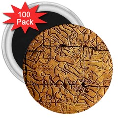 Ancient Egypt Mural 12aug 2014 3  Button Magnet (100 Pack)