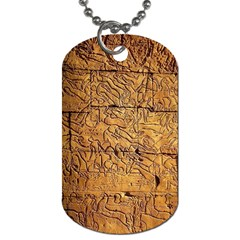 Ancient Egypt Mural 12aug 2014 Dog Tag (Two-sided)
