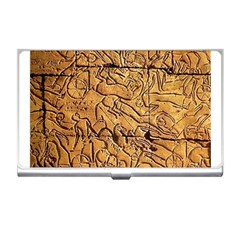 Ancient Egypt Mural 12aug 2014 Business Card Holder