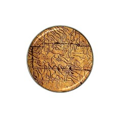 Ancient Egypt Mural 12aug 2014 Golf Ball Marker (for Hat Clip)