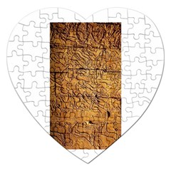 Ancient Egypt Mural 12aug 2014 Jigsaw Puzzle (heart)