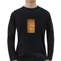 Ancient Egypt Mural 12aug 2014 Men s Long Sleeve T-shirt (Dark Colored)