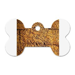 Ancient Egypt Mural 12aug 2014 Dog Tag Bone (One Sided)
