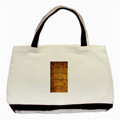 Ancient Egypt Mural 12aug 2014 Twin-sided Black Tote Bag