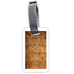 Ancient Egypt Mural 12aug 2014 Luggage Tag (two Sides)