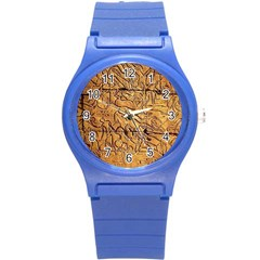 Ancient Egypt Mural 12aug 2014 Plastic Sport Watch (Small)