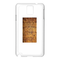 Ancient Egypt Mural 12aug 2014 Samsung Galaxy Note 3 N9005 Case (White)
