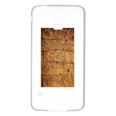 Ancient Egypt Mural 12aug 2014 Samsung Galaxy S5 Back Case (white)