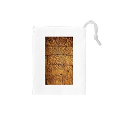 Ancient Egypt Mural 12aug 2014 Drawstring Pouch (Small)