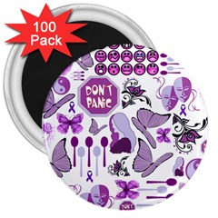 Fms Mash Up 3  Button Magnet (100 Pack)