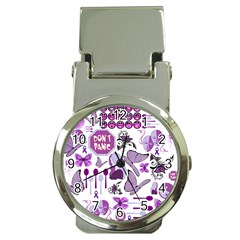 Fms Mash Up Money Clip With Watch