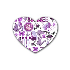 Fms Mash Up Drink Coasters 4 Pack (Heart)