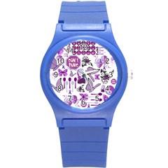 Fms Mash Up Plastic Sport Watch (small)