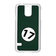 British Racing Green Samsung Galaxy S5 Case (White)