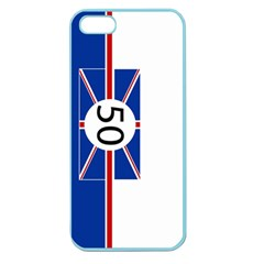 Uk Apple Seamless Iphone 5 Case (color)